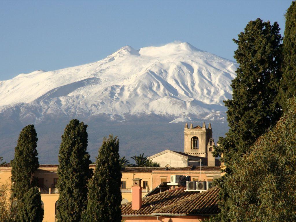 Wulkan Etna na Sycylii
