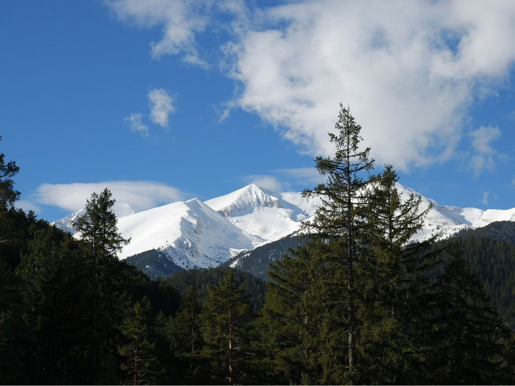 Pasmo górskie Piryn